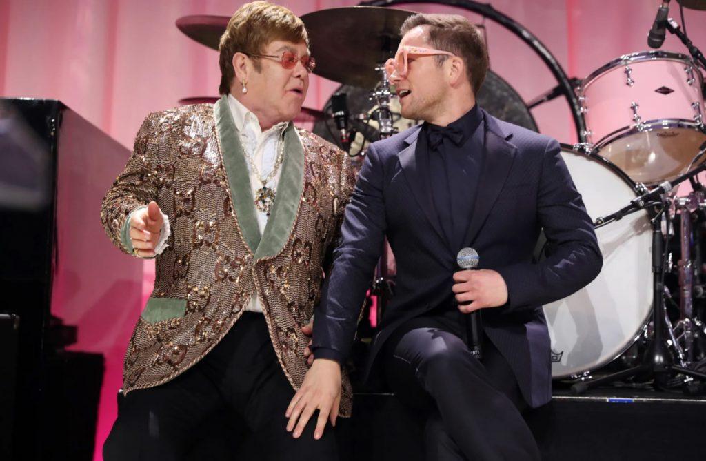 Elton and Taron