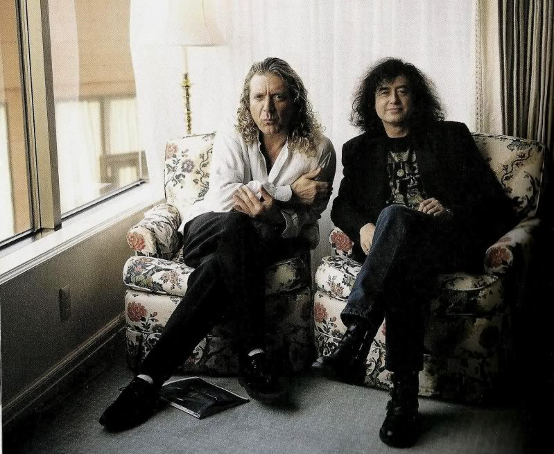 Jimmy Page & Robert Plant 1994