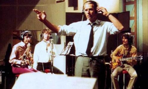 George Martin et les Beatles
