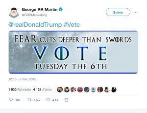 George RR Martin VS Trump
