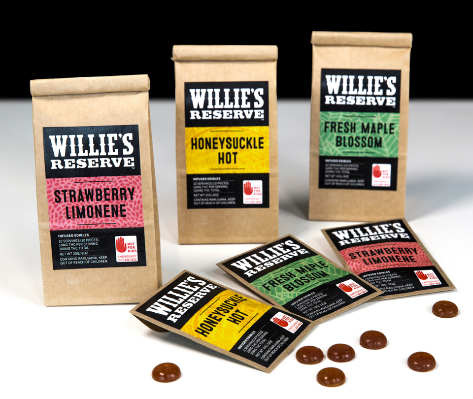 Willie's Reserve edibles