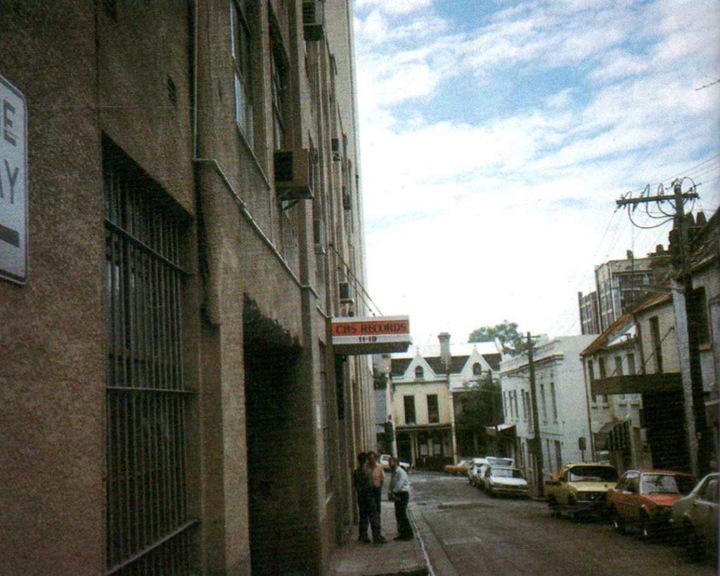 Hargrave Street où  Midnight Oil enregistre