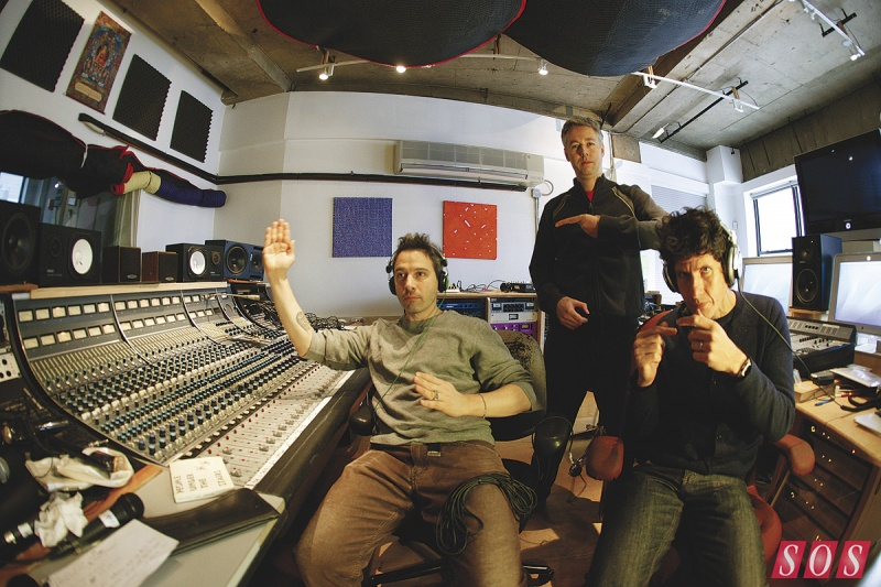 The Beastie Boys @ Oscilloscope studio