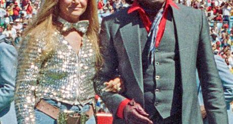 Jacquelyn Hollander and James Brown