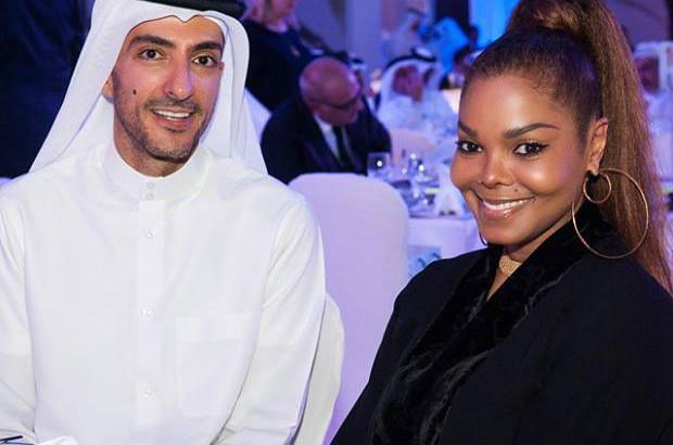 Janet-Jackson et son mari