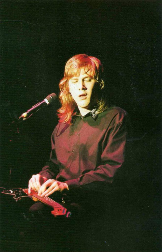 Jeff Healey by JY Legras