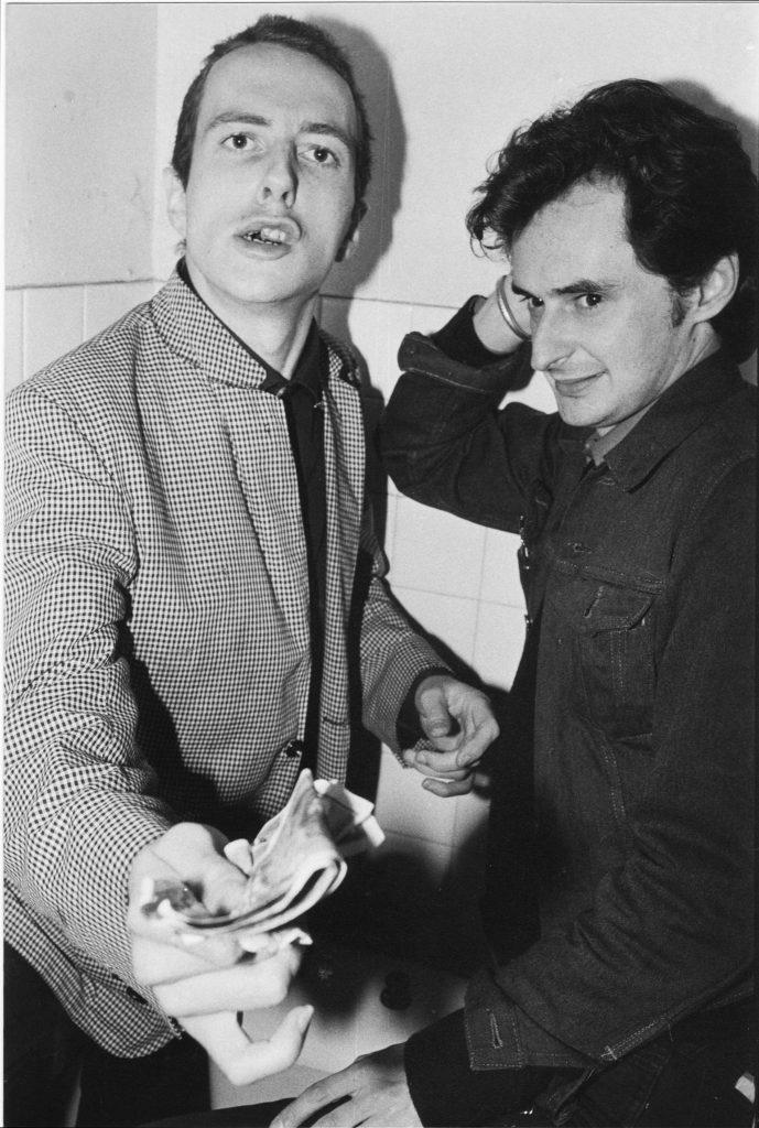 Joe Strummer et Marc