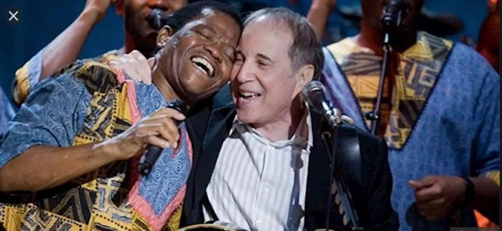 Joseph Shabalala & Paul Simon