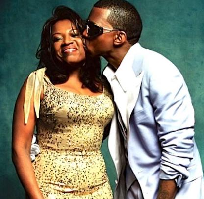 Kanye et sa maman