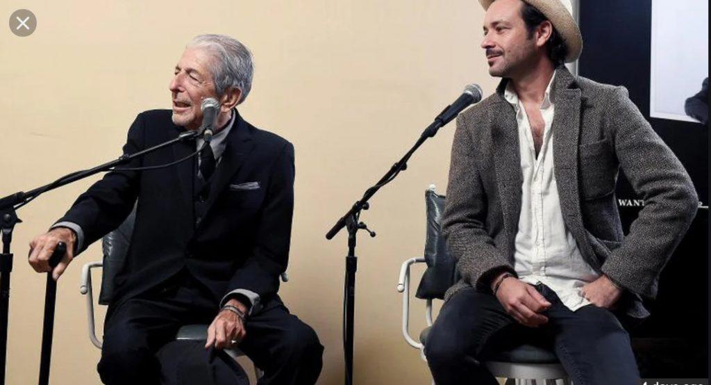 Leonard & Adam Cohen