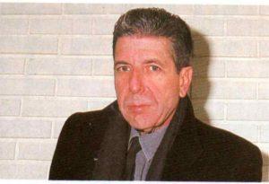 Leonard Cohen by JY Legras