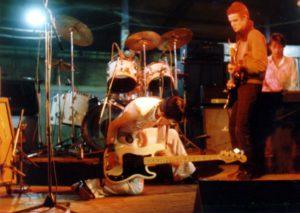 MDS 1 ere partie des Damned octobre 1977 par Jacques Lousse