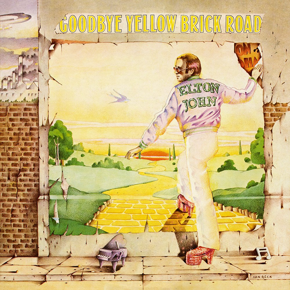 Farewell Yellow Brick Road ;)