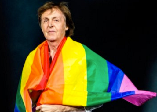 Macca gay flag Berlin