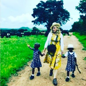 Madonna & twins