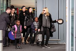 Madonna+and+her+kids
