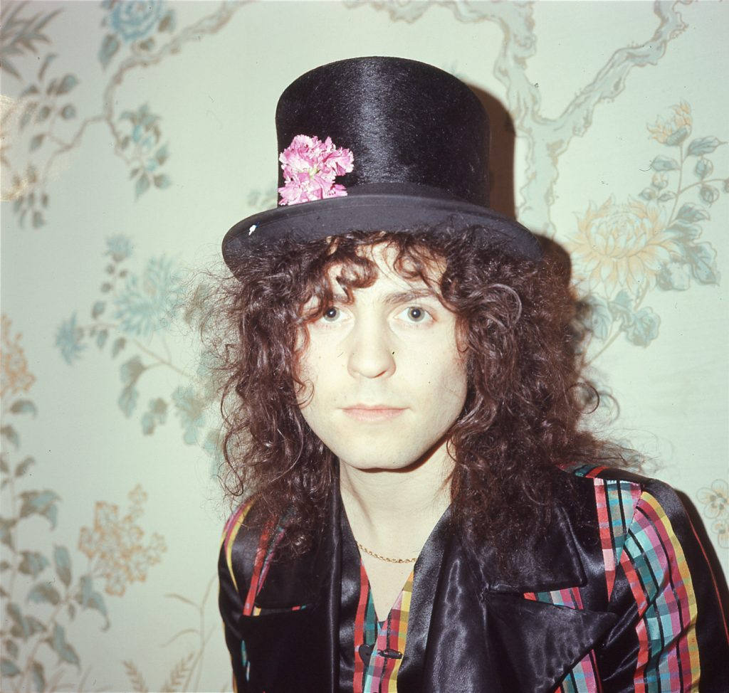 Marc Bolan by Gloria Stavers