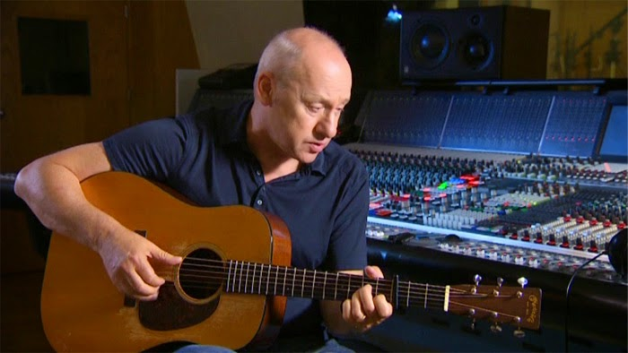 "Mark-Knopfler recording his new ""Tracker"""