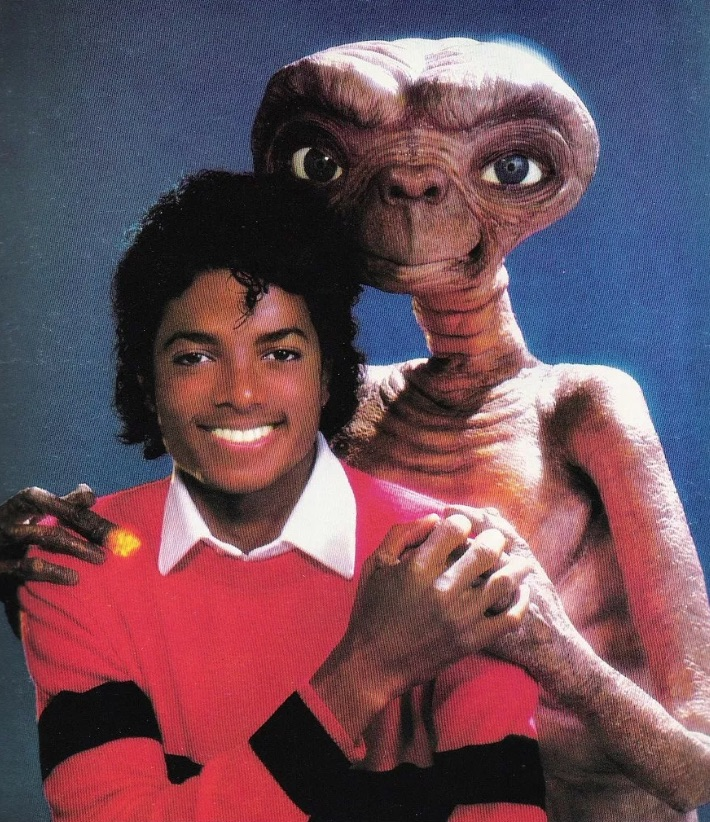 Michael Jackson and ET
