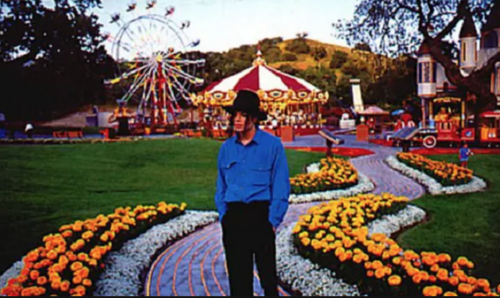 Michael in Neverland