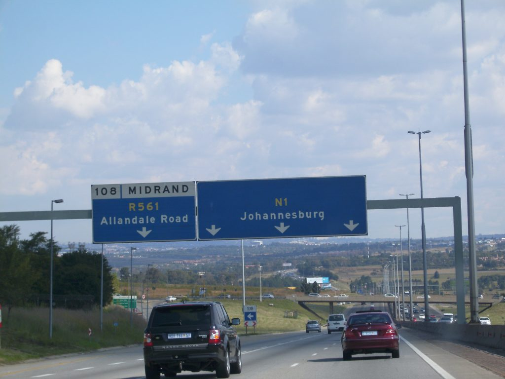Joburg freeways