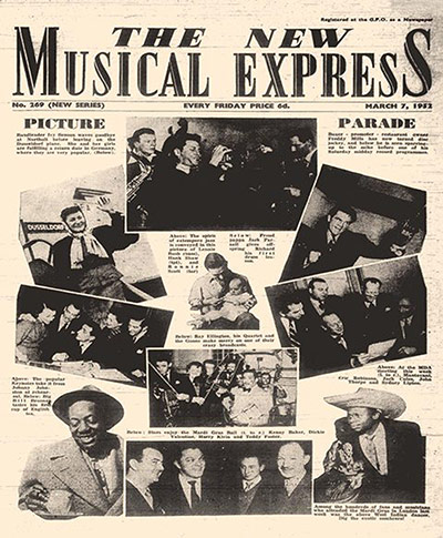 NME first issue cover