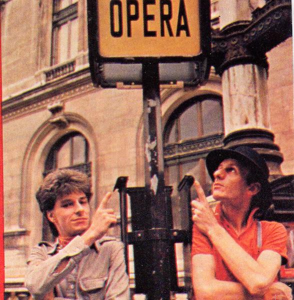 Opéra Gérard Tellier & Patrick Datas (de g à dt)