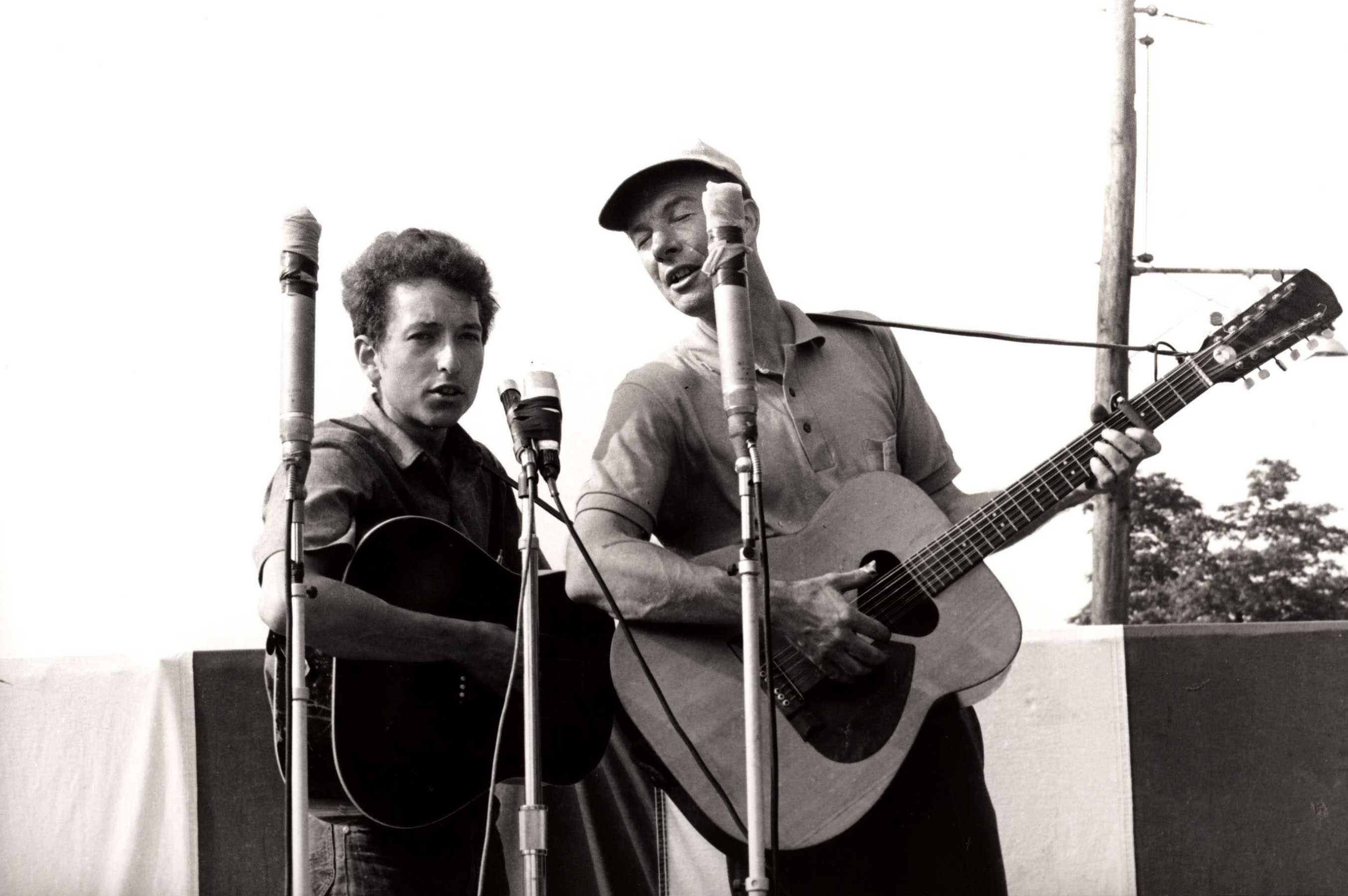 PeteSeeger & Bob Dylan