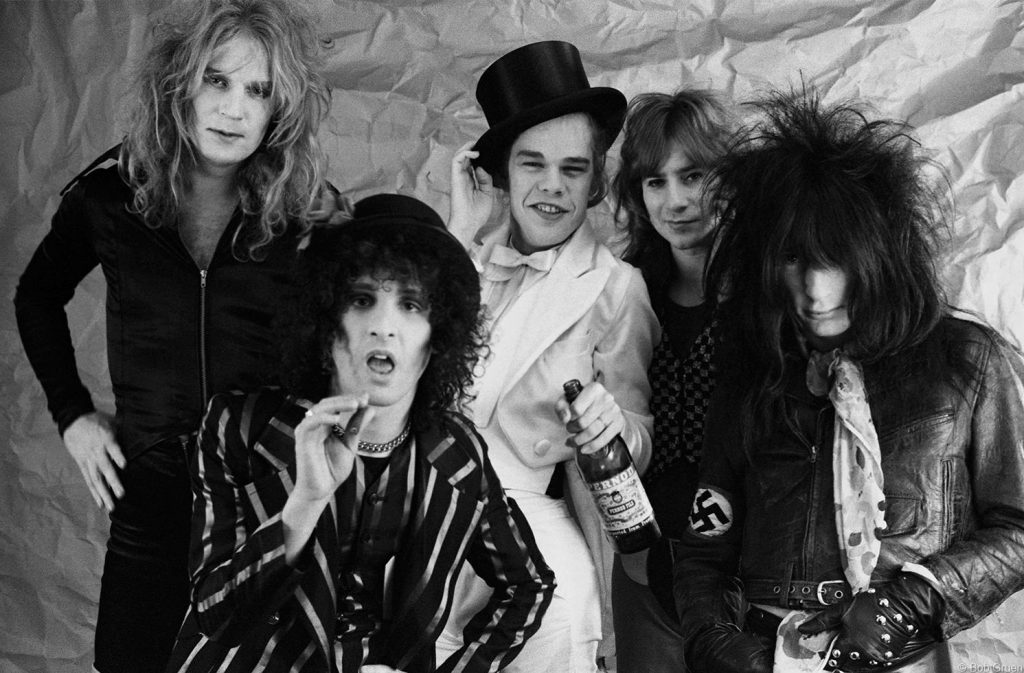 The New York Dolls by Bob Gruen