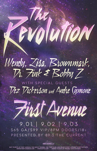 The Revolution and more poster