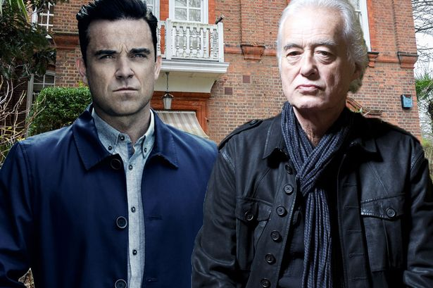 Robbie Williams VS Jimmy Page