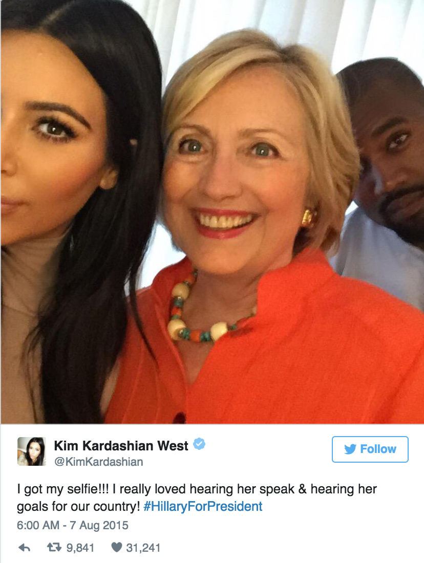 Selfie Kany Hillary Kim