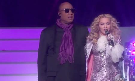 Stevie Wonder & Madonna