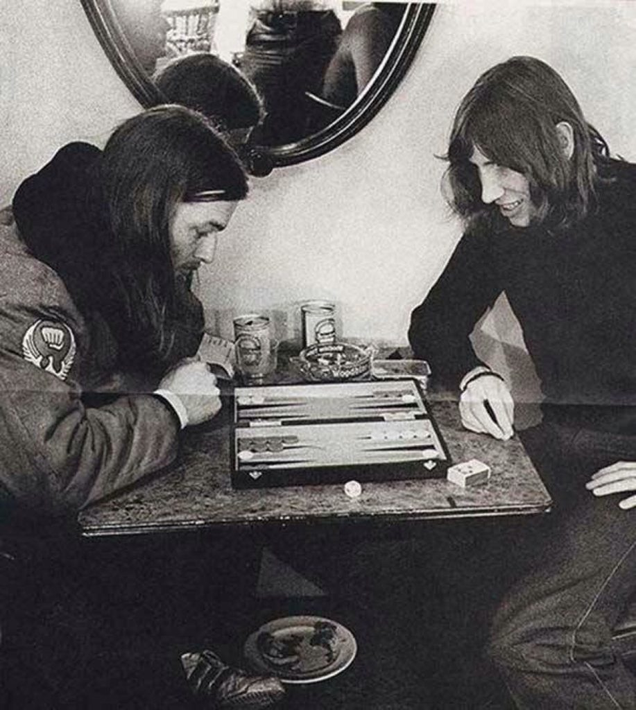 Waters and Gilmour