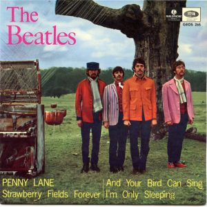 Sweden EP Penny Lane Strawberry Fields