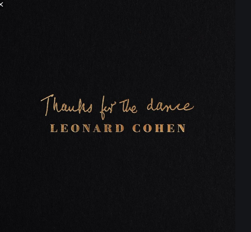 Thanks For the Dance