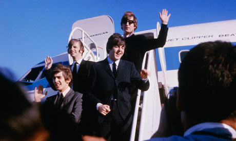 Arrivée des Beatles aux USA