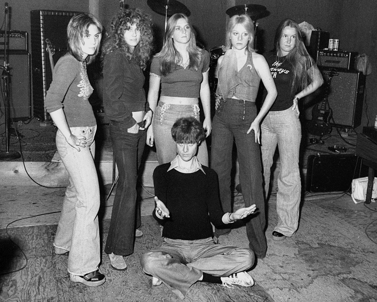 Kim Fowley  and the Runaways