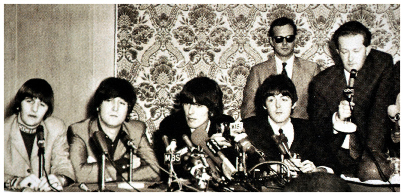 Tony-Barrow-and the Beatles