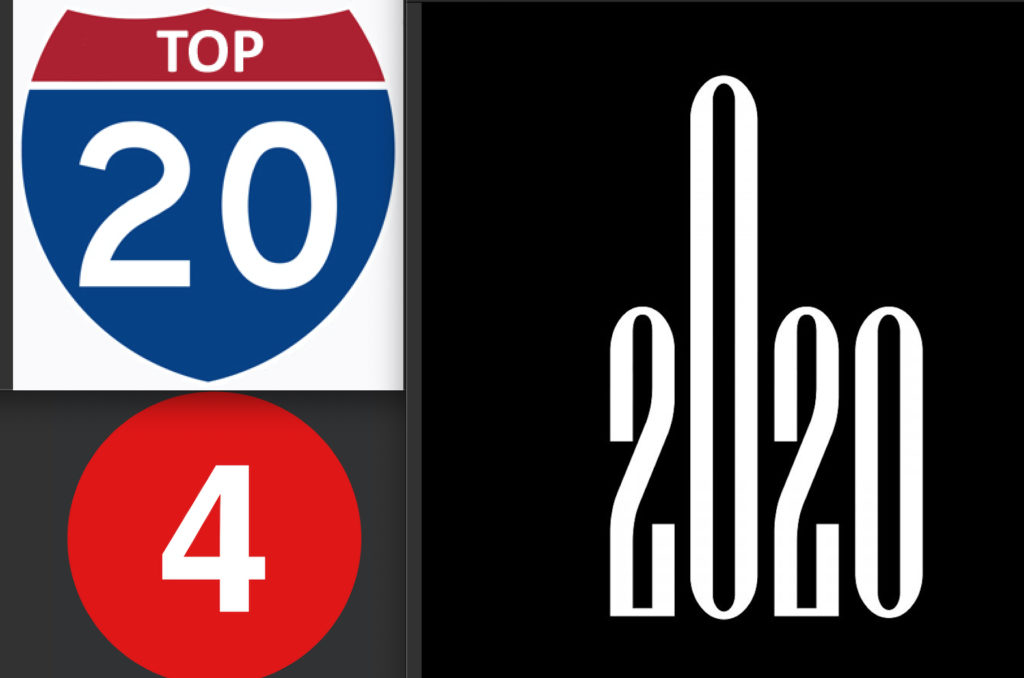 Top 20 4 2020