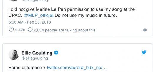 Twitter Ellie Goulding