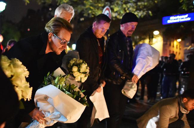 U2 hommage au Bataclan