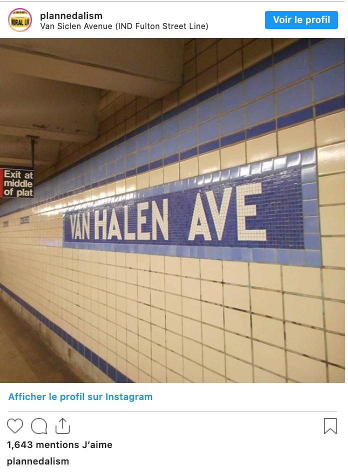Van Halen Avenue
