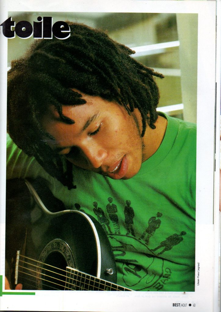 Ziggy Marley by JY Legras