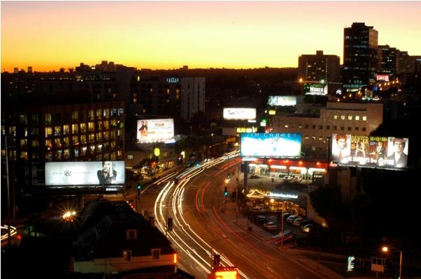 Sunset boulevard LA