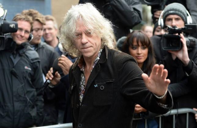 Bob Geldof Band Aid 2014