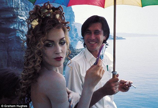 Bryan Ferry with Jerry Hall