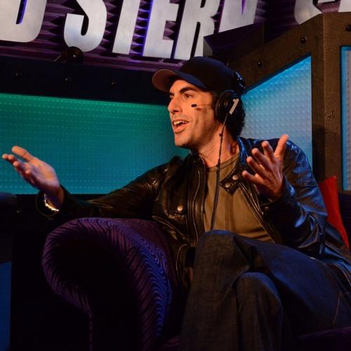 Sacha Baron Cohen @Howard Stern