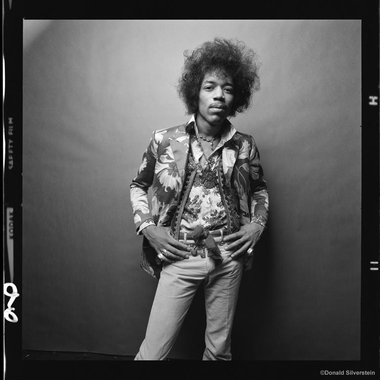 Jimi Hendrix by Donald Silverstein
