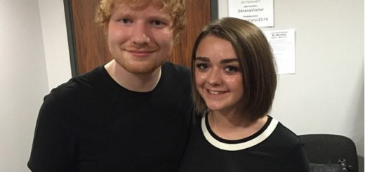 ed-sheeran-maisie-williams